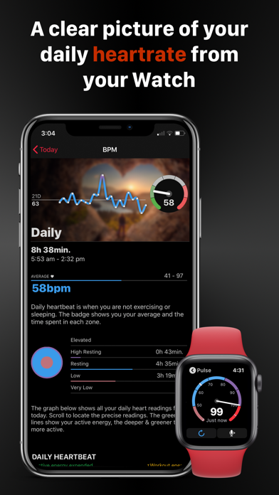 HeartWatch: Monitor Heart Rate