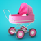 App Icon for Baby & Mom Idle 3D Simulator App in United States IOS App Store