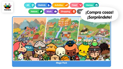 Screenshot for Toca Life: World in Ecuador App Store