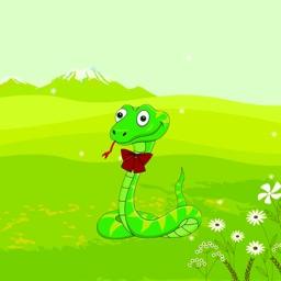 花样蛇 - 艺术来源于生活