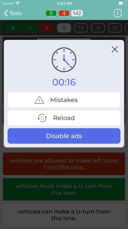 DMV Permit Practice Test screenshot-4