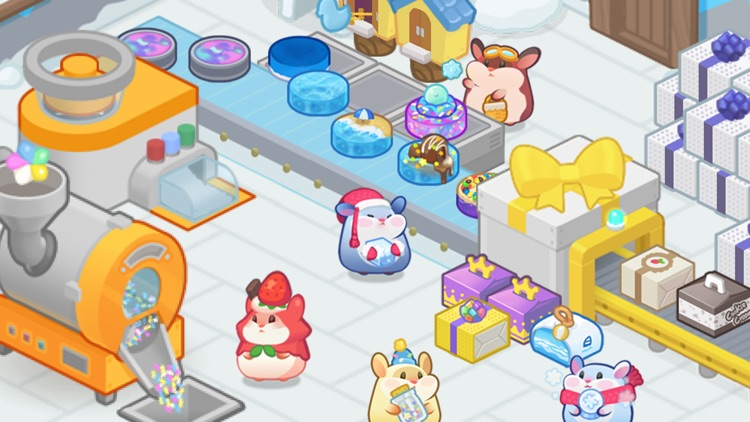 Hamster Tycoon : Cake Maker screenshot-1