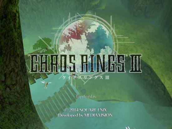 CHAOS RINGS Ⅲ на iPad