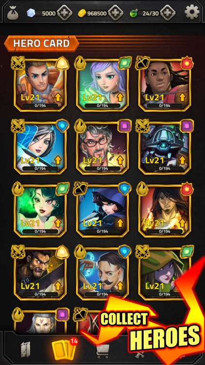 Match 3 RPG Heroes of Elements