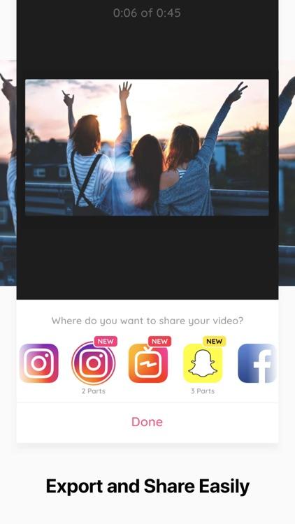 Crop Video - Cut & Trim Videos screenshot-4