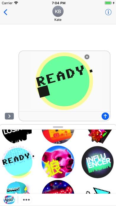 Flashback Sticker Attack!