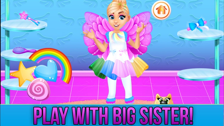 New Baby Sister Makeover Game screenshot-5