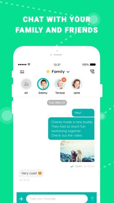 GeoZilla Find Family & Friends Screenshot