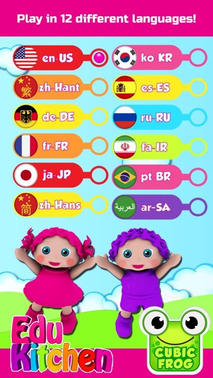 EduKitchen-Toddlers Food Games screenshot-4