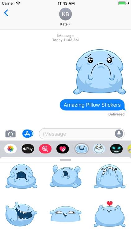 Pillow Stickers screenshot-3