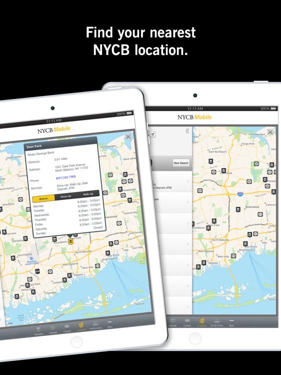 NYCB Mobile® for iPad screenshot-5