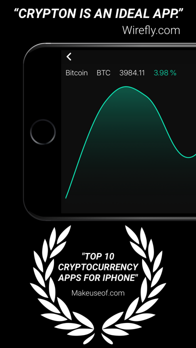 Crypton, Crypto Market Tracker Screenshots
