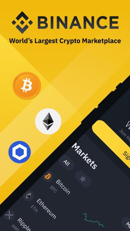 Binance: Buy Bitcoin & Crypto screenshot-0