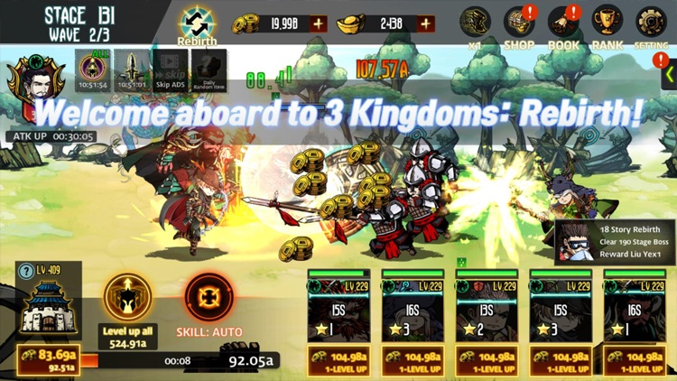 Three kingdoms rebirth