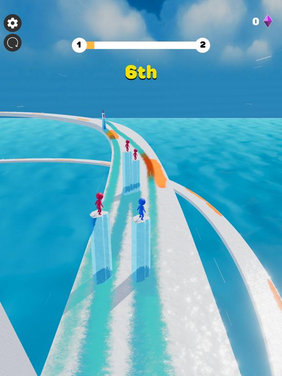 Ice Lava Run screenshot 13