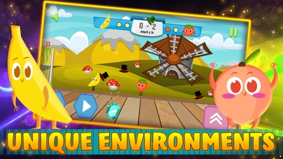 Screenshot for Fruit Sport: speel met de bal in Netherlands App Store