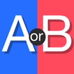 AorB - Compare, vote, poll.
