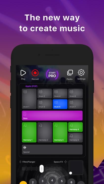 MuzArt Beats - Music Mix Maker screenshot-0