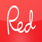 App Icon for Red magazine UK App in Singapore IOS App Store
