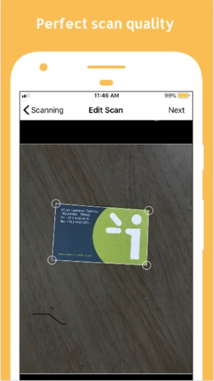 V Card Scanner screenshot-2