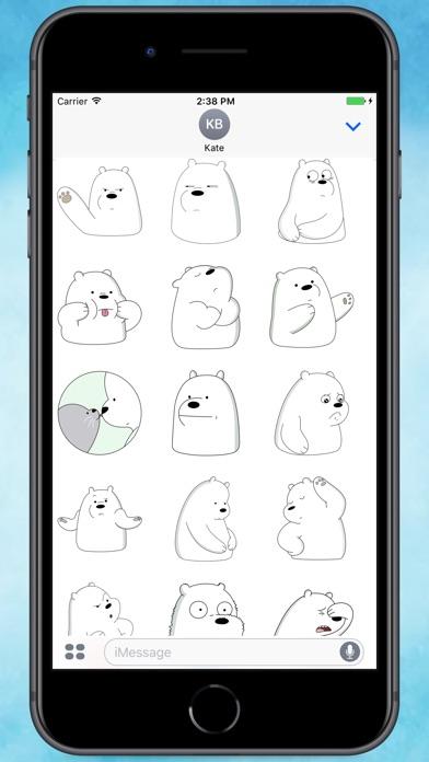 ice ice bear stickers app price drops rh appsliced co
