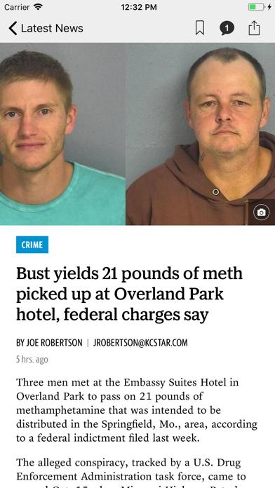 Kansas City Star News Screenshot