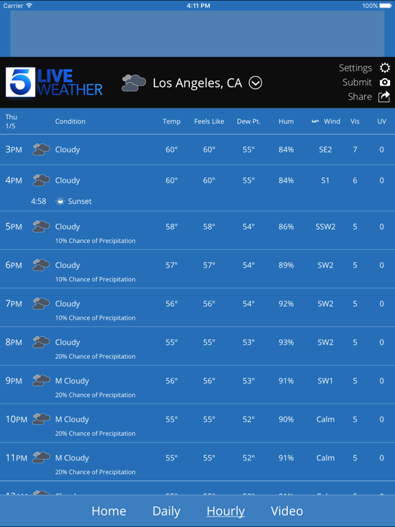 KTLA Los Angeles Weatherのおすすめ画像3