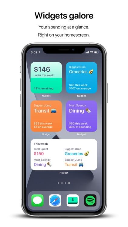 Nudget: Spending Tracker