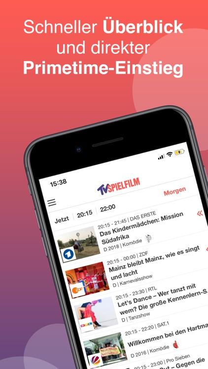 TV SPIELFILM - TV Programm screenshot-0