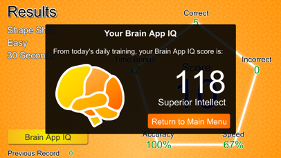 Screenshot #3 pour Brain App