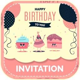 Birthday Invitation & Cards