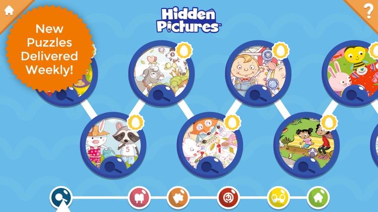 Hidden Pictures Puzzle Town