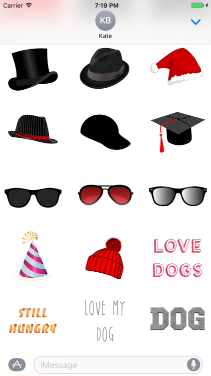 Dogs - Dog Stickers Messages screenshot-4