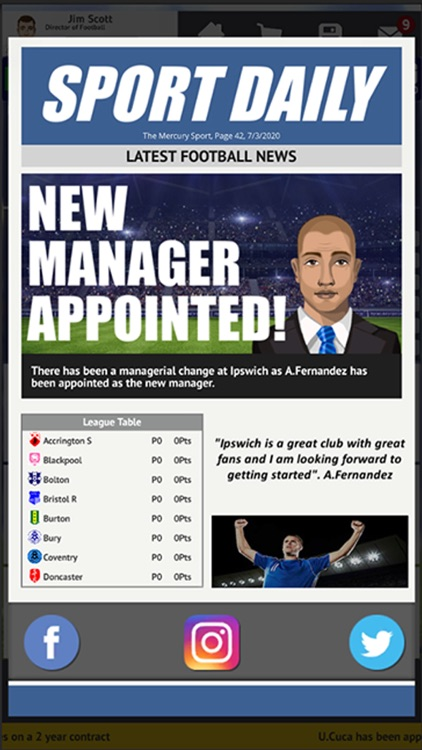 Club Soccer Director 2021 screenshot-0
