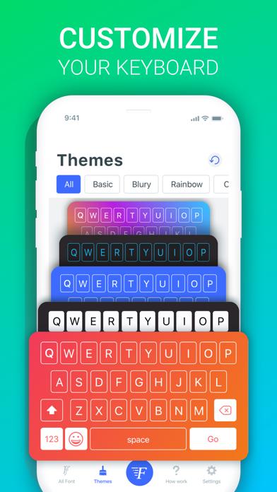 Fonts X - Keyboard for iPhoneのおすすめ画像4