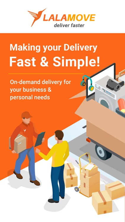 Lalamove - Fast Delivery App