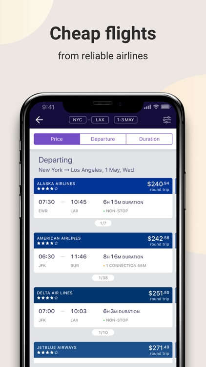 OneTwoTrip: Hotels and Flights