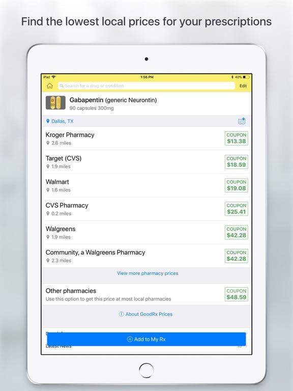8d1c5783971f GoodRx Save On Prescriptions screenshot ...