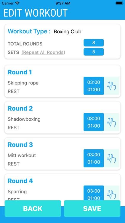 Boxing Timer Pro screenshot-6