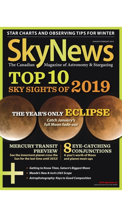 Screenshot for SkyNews Magazine in United States App Store
