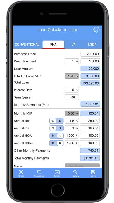 Loan Calculator | PMI- LiteScreenshot of 3