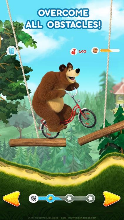 Masha and the Bear: Car Games screenshot-6