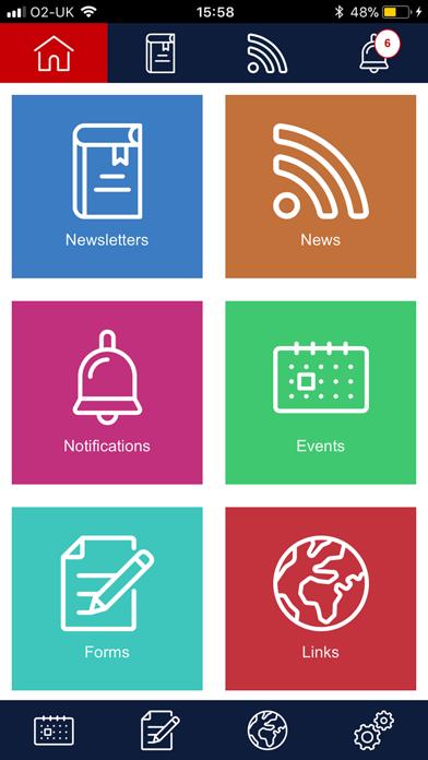 Smart School Parent App screenshot one