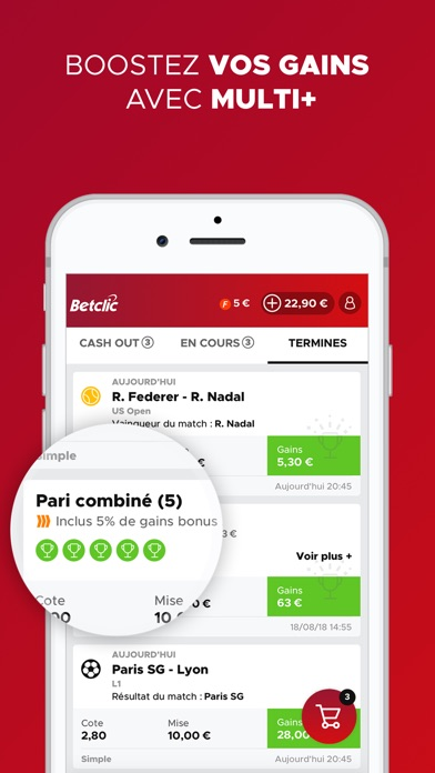 download Betclic Paris Sportifs apps 1