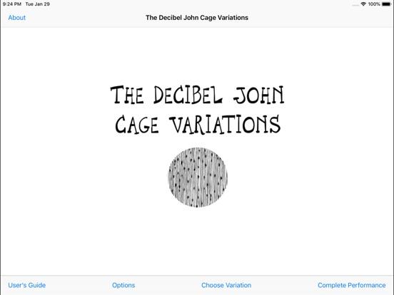Decibel John Cage Variations screenshot 1