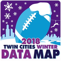 Twin Cities Winter Data Map