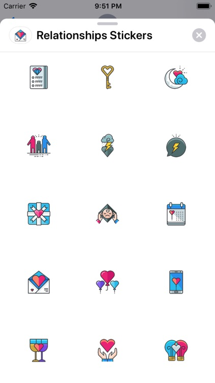 Relationships Stickers