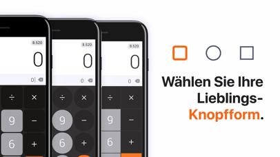 Screenshot for Dėr Taschenrechner in Germany App Store
