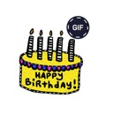 Happy Birthday GIF Animated