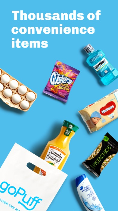 messages.download goPuff: Drink & Food Delivery software